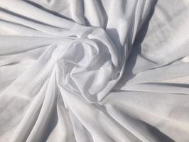 Netzstoff Weiß bi-elastisch