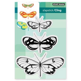 "Tampon cling ""Butterfly trio"" - Penny Black"