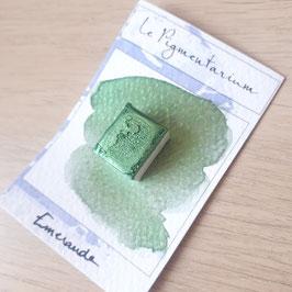 """""""Emeraude"""" - aquarelle Pigmentarium"""