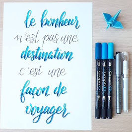 Atelier technique Lettering - perfectionnement