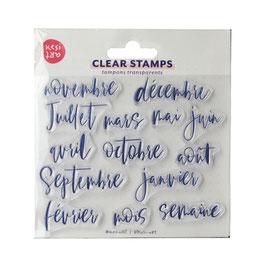 Tampons clear mensuel - Kesi art