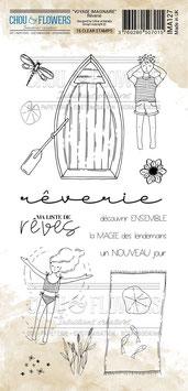 """Tampons clear """"Rêverie"""" - Chou&Flowers"""