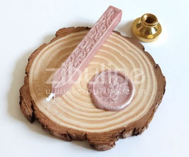 Baton de cire à mèche VIEUX ROSE - Zibuline