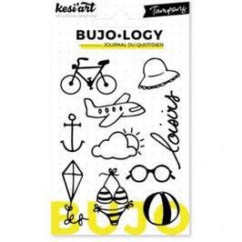 "Tampons transparents Bujo-Logy ""Loisirs"" - Kesi Art"