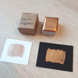 """""""Pain d'épices"""" 1/2 godet aquarelle - Pigmentarium"""