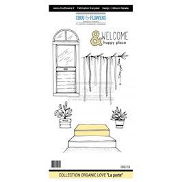 "Tampon ezmount ""La porte"" - Chou & Flowers"