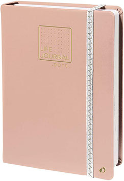 Life journal rose - Quo Vadis carnet 21 dots
