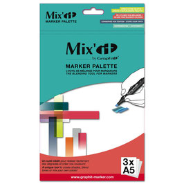 Palette pour crayons, feutres et marqueurs - Mix'it