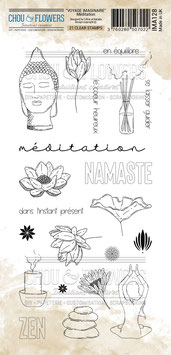 """Tampons clear """"Meditation"""" - Chou&Flowers"""