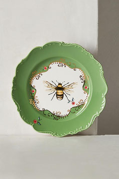 Nature Table Dessert Plate (Bee)【アンソロポロジー】