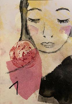 Frauenportrait Unikat