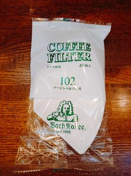 バッハロシ102 40枚  コーヒー豆200g以上とセットで承ります。