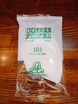 バッハロシ101  40枚 コーヒー豆200g以上と限定いたします。