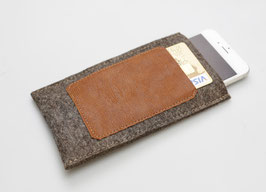 "Smartphonetasche ""Elegant Brown"""
