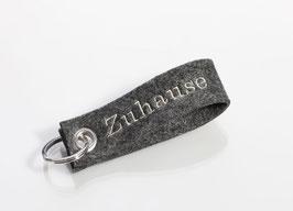 """Schlüsselanhänger """"Zuhause"""""""
