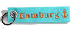 "Schlüsselanhänger ""Hamburg"""