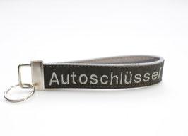 "Kunstleder Schlüsselband ""Autoschlüssel"""