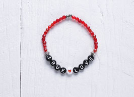 "Buchstabenarmband, personalisiertes Armband ""True Love"""