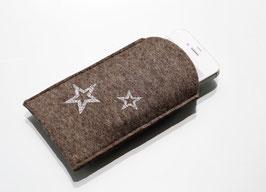 Smartphonetasche Sparkling Stars