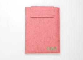 Notebook Tasche/Sleeve Filz mit Spruch oder Namen