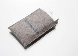 Smartphonetasche Quasselstrippe / Wunschtext