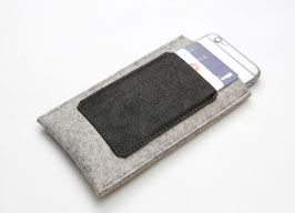"""Smartphonetasche """"Black & Grey"""""""