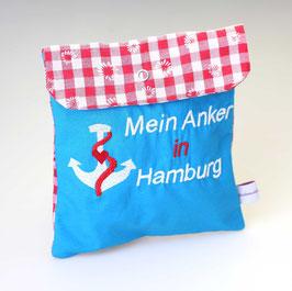 """Trostkissen """"Mein Anker in Hamburg"""" 2"""