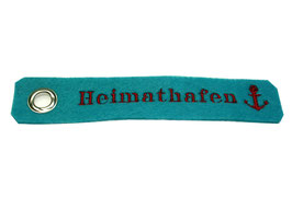 """Schlüsselanhänger """"Heimathafen"""""""
