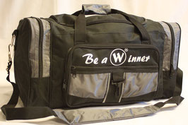 WINNER Kugeltasche Two Big in Schwarz-Grau