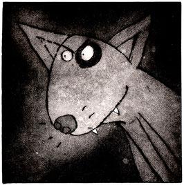 'Dog' English Bull Terrier Art Print