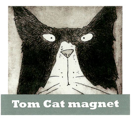 'Tom Cat' Magnet