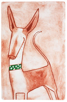 'Podenco Canario' Dog Print