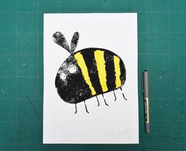 'Bumble Bee' Original Monoprint