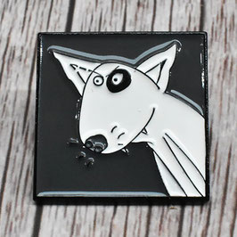 English Bull Terrier Dog Pin Badge