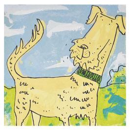 'Bone-afide Irish' Irish Terrier Print