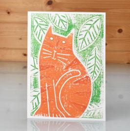 'Ginge' Blank Inside Greeting Card