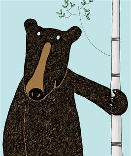 'Standing Bear' Magnet