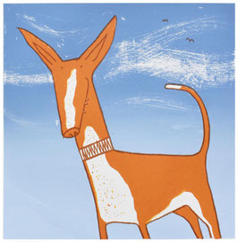 'Spanish Podenco' art print