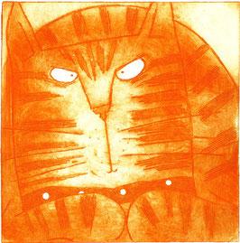 'Ginger Cat' Magnet