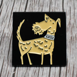 Irish Terrier Dog Pin Badge
