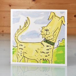 'Irish Terrier' Greeting Card