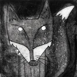 'Fox' Magnet