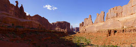 USA - Arches National Park, Park Avenue