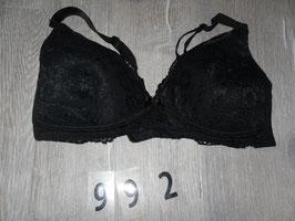 992 Still BH schwarz mit Spitze von H&M Gr. 85B