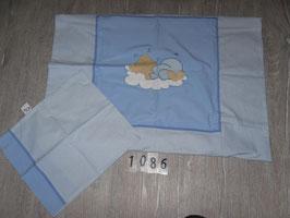 1086 Bettwäsche Easy Baby Bär 80x80 und 32x27