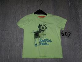 607 Shirt neon gelb mit Hund von STACCATO Gr. 92/98