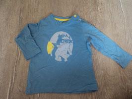 2243 LA Shirt hellblau mit Monster und Taschenlampe von ESPRIT Gr. 74