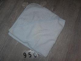 950 Handtuch hellblau mit Bäreohren