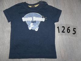 1265 Shirt dunkel blau Soap Boxes von ESPRIT Gr. 68