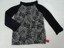550 Handmade Pulli schwarz grau mit Kassetten Gr. 68/74